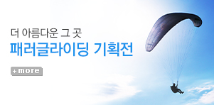 [기획전]Fly tothe SKY 패러글라이딩