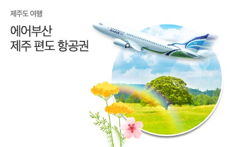 [today_pick6]제주도항공권 편도 김포,부산,제주出