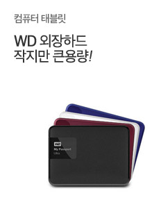 [today_pick9]WD PASSPORT외장하드 1TB