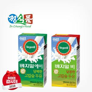 [위메프감사제] 베지밀 두유 64팩