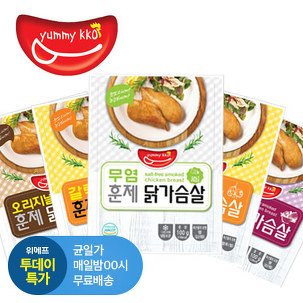 [투데이특가] 훈제 닭가슴살 10팩 外