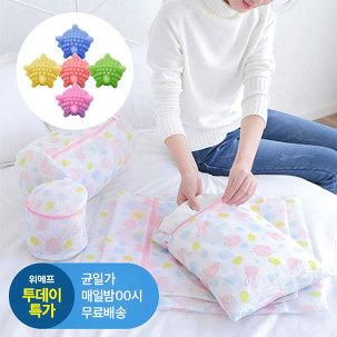 [투데이특가] 세탁망5종+세탁볼5개