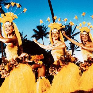 하와이 폴리네시안문화센터+패키지
