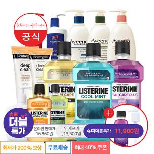 [슈퍼더블특가] 리스테린 3L 40%쿠폰