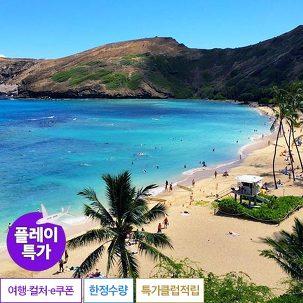 [플레이특가] 하와이 자유여행 6일