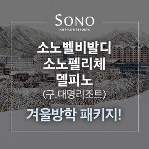 [설연휴여행] 대명리조트, 겨울PKG