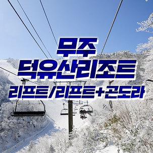 [무주] 덕유산 리조트 리프트권 단품
