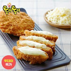 [투데이특가] 치즈돈가스6팩+소스4봉