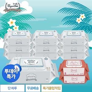 [투데이특가] 하얀봄 물티슈 12팩
