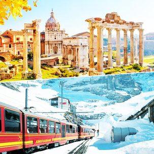 스위스+이탈리아 9일